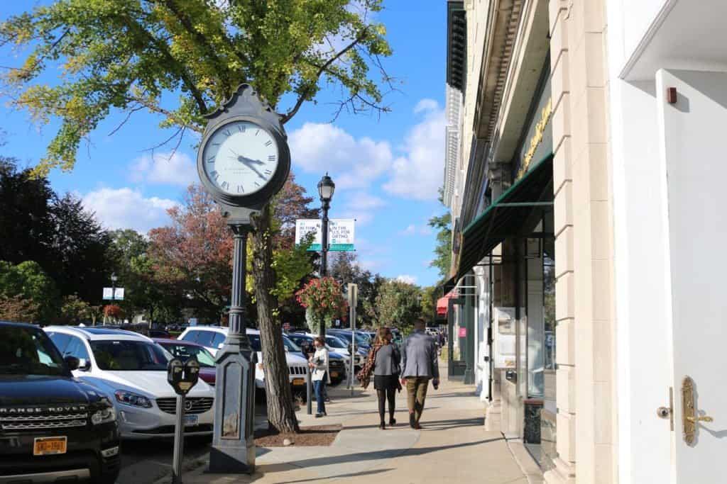 Greenwich Avenue Clock
