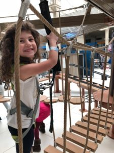 Palisades Mall Ropes Course- 6 Foolproof Winter Activities for Families in the NYC area
