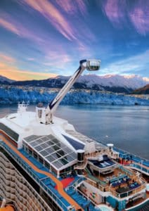 Royal Caribbean Ovation of the Seas- 5 Best Alaska Cruises for Families