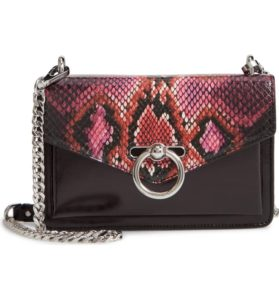 rebecca minkoff jean snake embossed leather bag- Top 5 Fashion Trends for Spring 2019