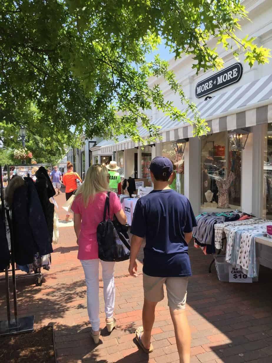 Greenwich, New Canaan and Westport Sidewalk Sales