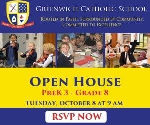 Greenwich Catholic School Open House Ad