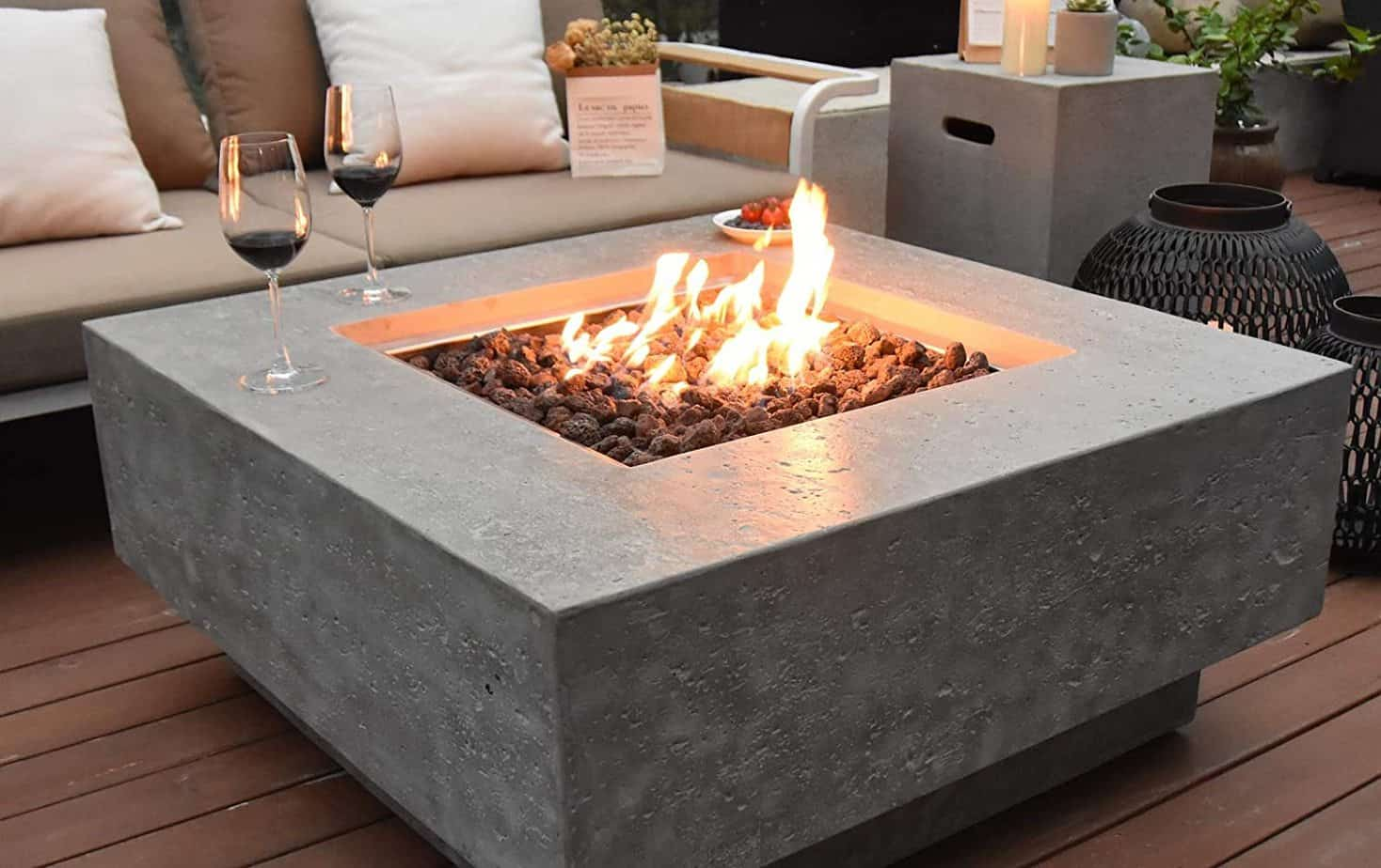 Stylish Fire Pit Tables For Your Outdoor Patio Or Deck Suburbs 101